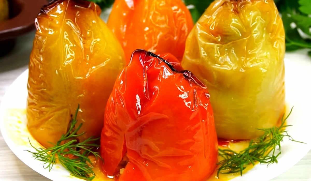 фаршированные перцы по-турецки