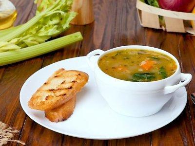 Фасолевый суп по-средиземноморски