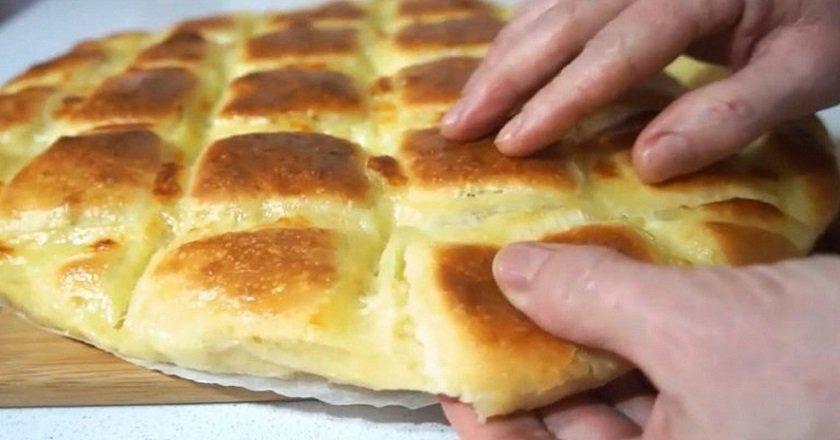 Focaccia z serem