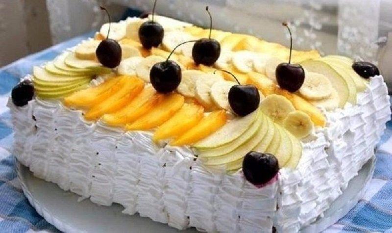 торт тропиканка