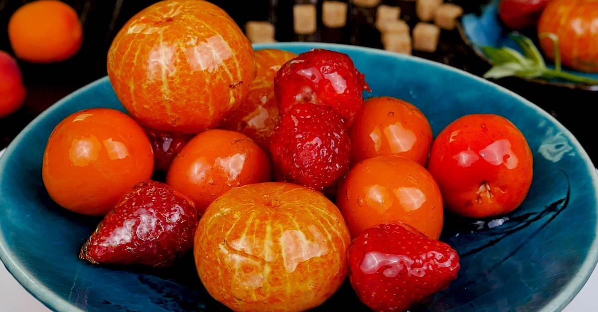 фрукты в сиропе