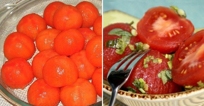 «Голые» помидоры