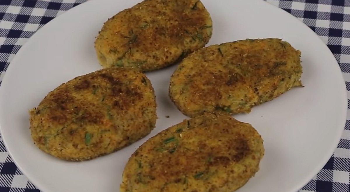 готовые гречаники с картошкой