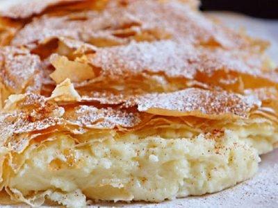 Греческий пирог «Бугаца»