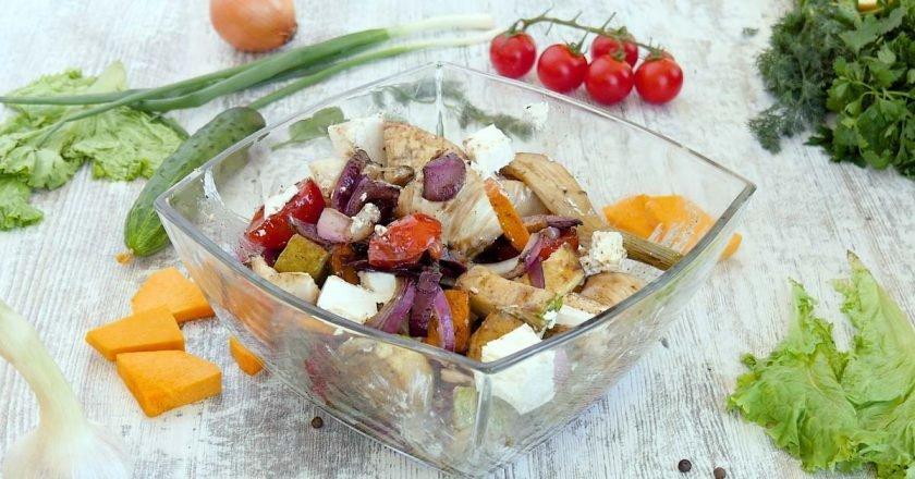 Гриль-салат