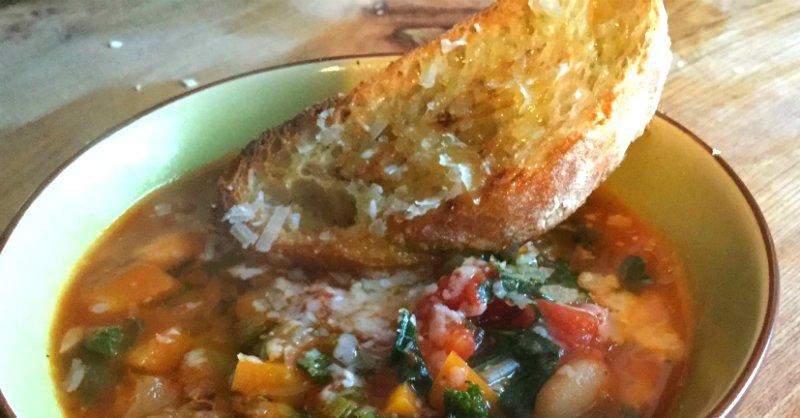 густой овощной суп