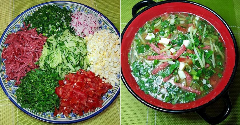 Холодный суп «Нэнкук»