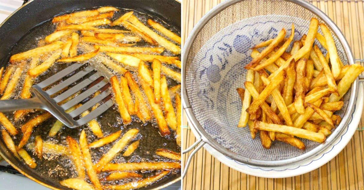 идеальный картофель фри