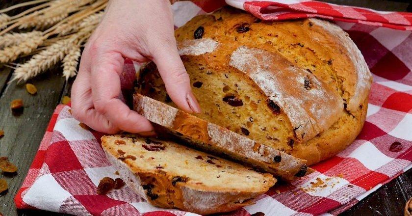 Ірландський содовий хліб на кефірі подивитися рецепт
