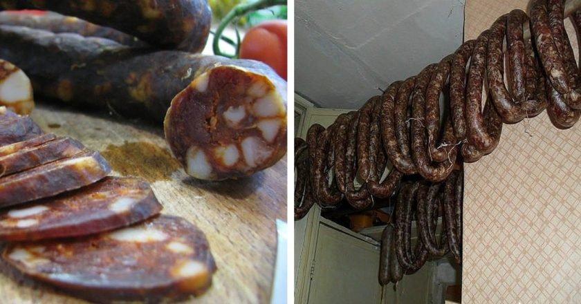 Испанская колбаса чоризо в домашних условиях