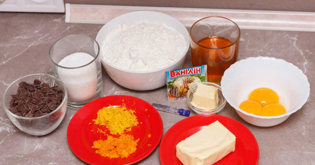 ингредиенты на кулич