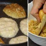 Кабачковые оладьи с картофелем