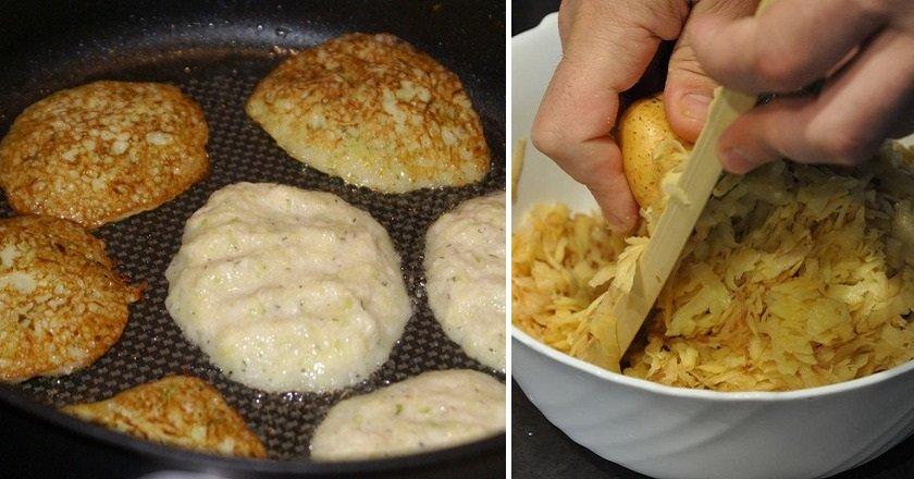 Кабачкові оладки з картоплею - готуємо з покроковими фото