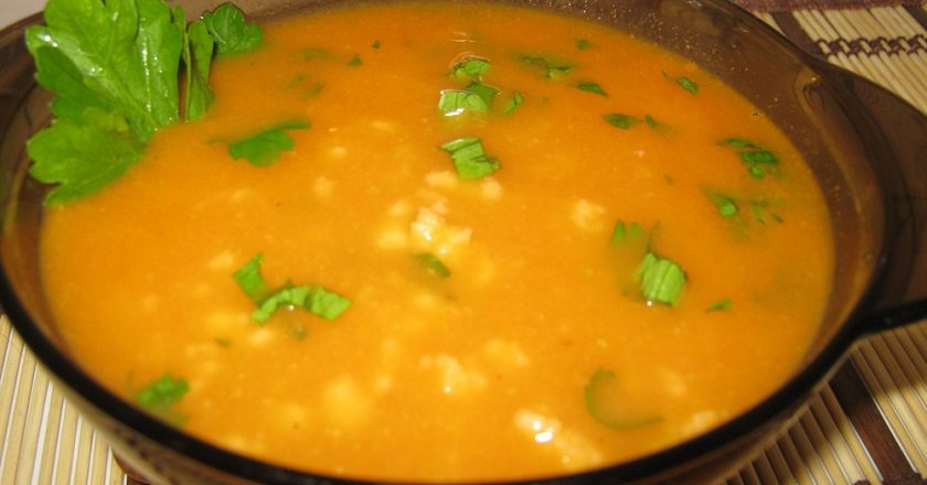 Кабачковый суп