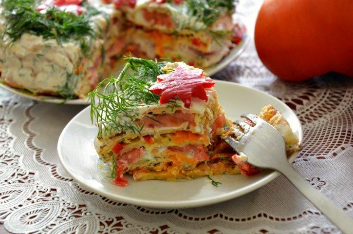 торт из кабачков фото