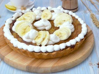 Как приготовить бананово-ирисовый тарт