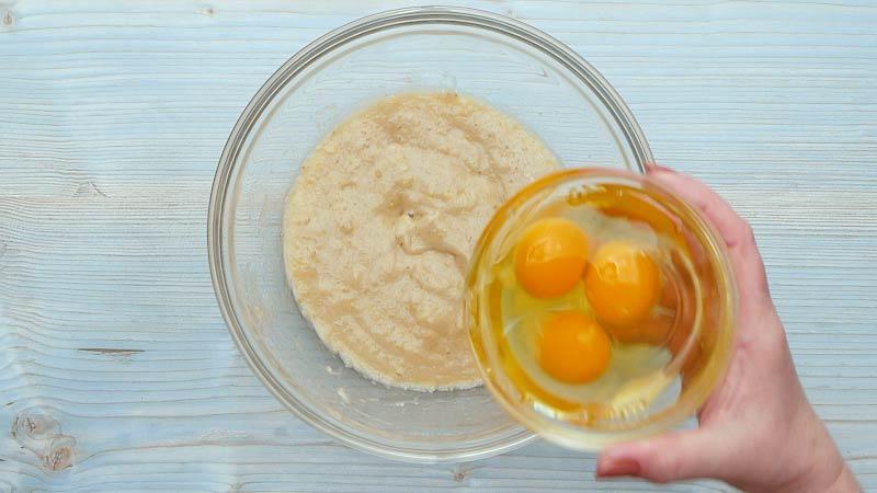 тесто с арахисовым маслом