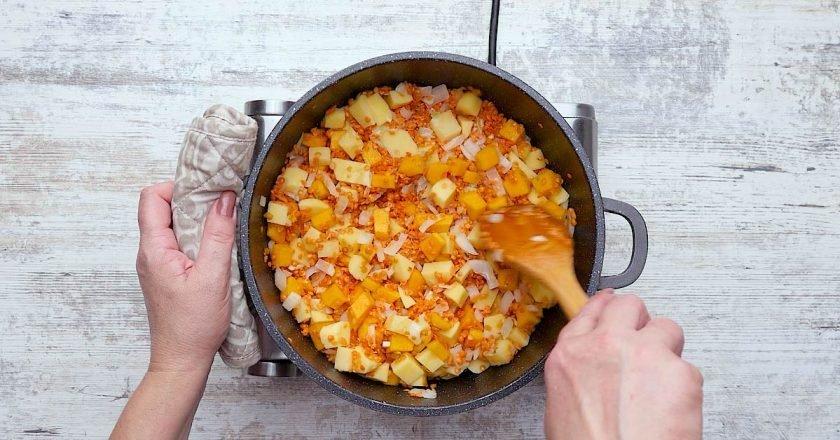 Как приготовить чечевичный дал с курицей