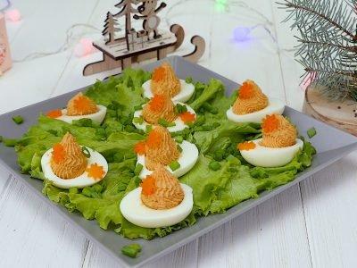 Как приготовить фаршированные яйца