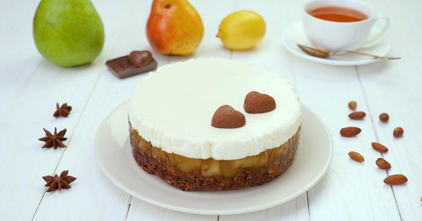 Как приготовить грушевый торт