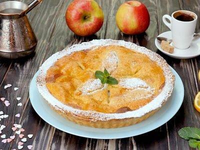 Как приготовить ирландский закрытый яблочный тарт