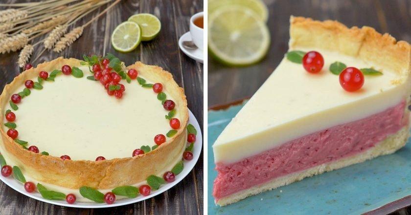 Как приготовить клюквенный тарт