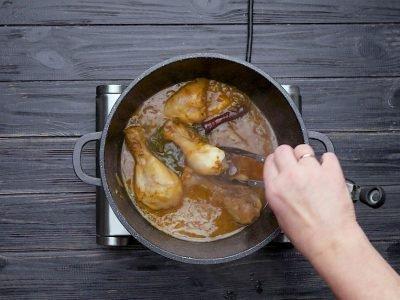 Как приготовить курицу с грушей