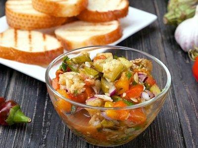 Как приготовить овощную икру