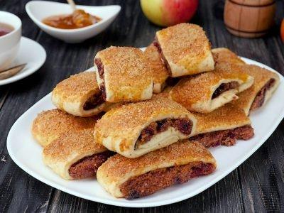 Как приготовить печенье с вареньем