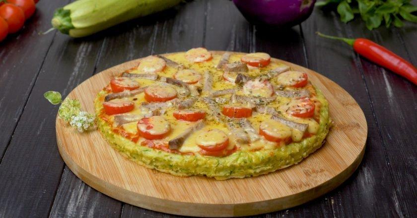 Як приготувати піцу з кабачків подивитися рецепт