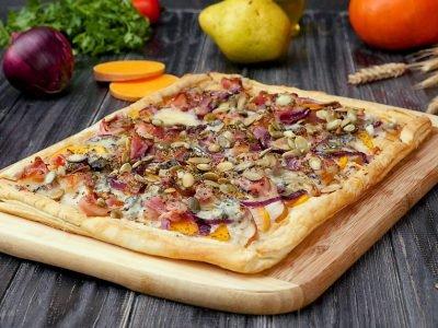 Как приготовить пиццу с тыквой