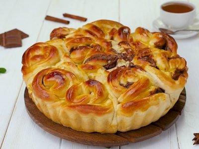 Как приготовить пирог «Розочки»