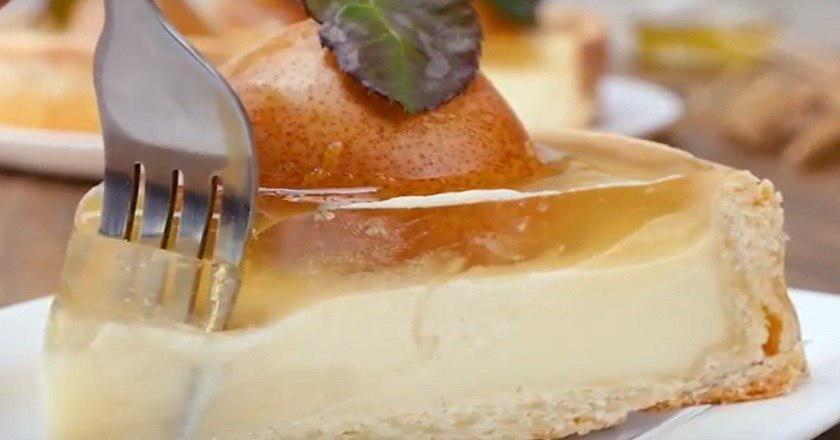Как приготовить пирог с грушами
