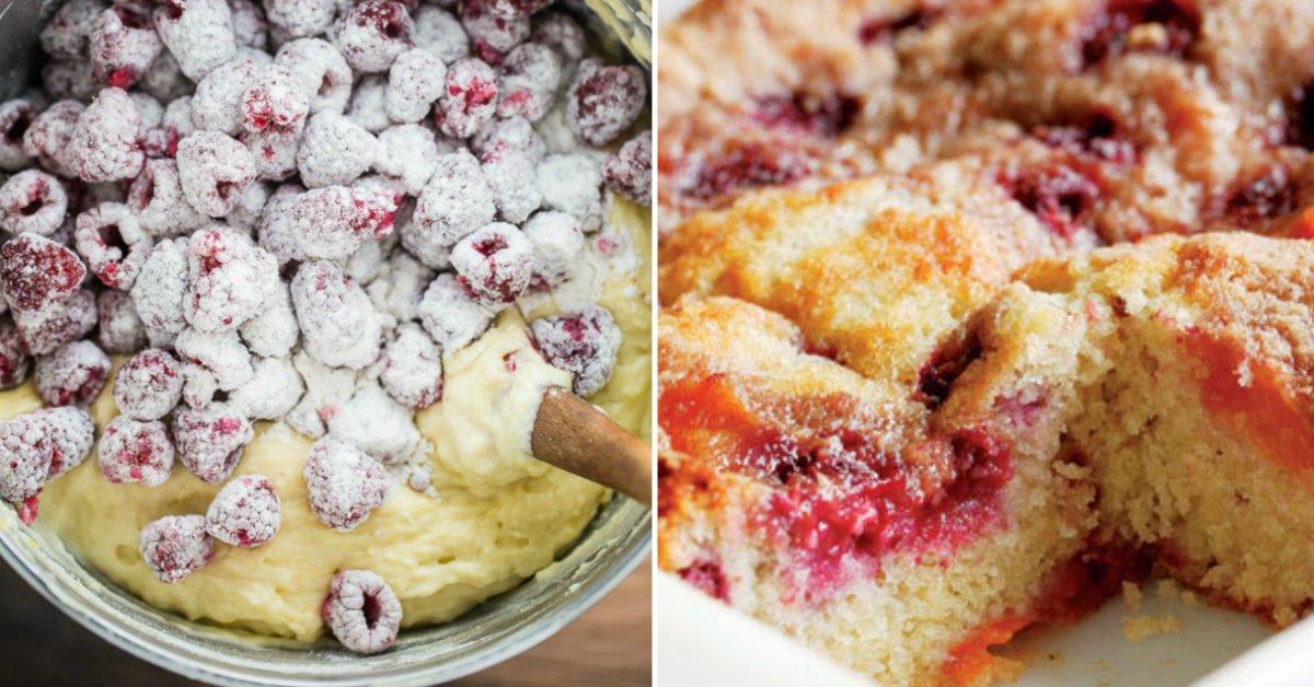 Пиріг з малиною по-американськи подивитися рецепт