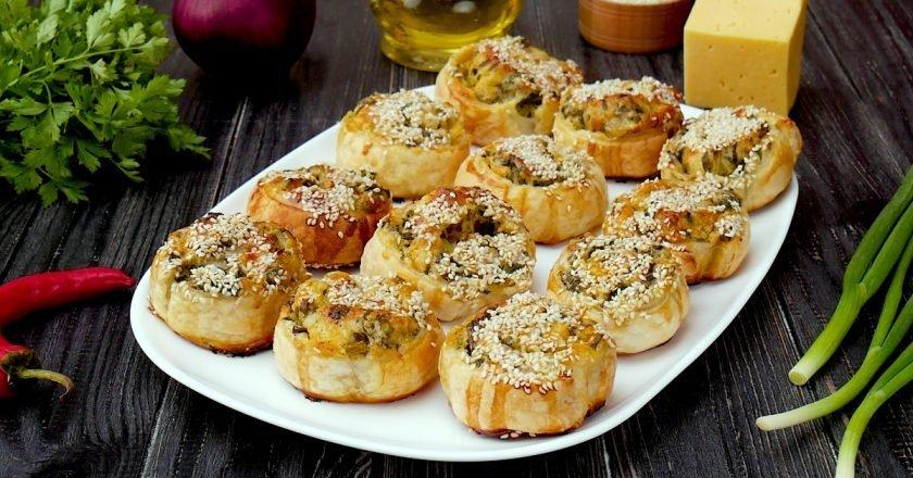 Как приготовить рулеты с сыром и шпинатом