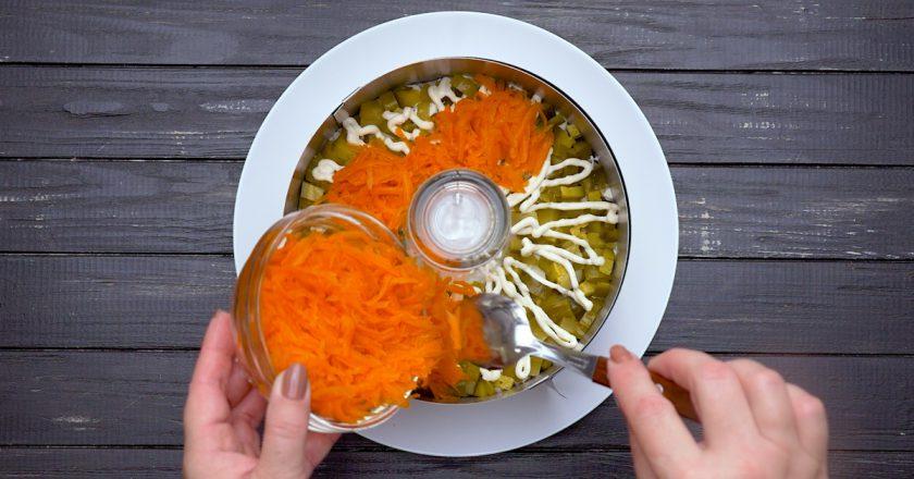 Как приготовить салат «Прага»