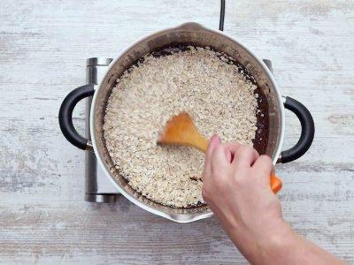 Как приготовить шоколадно-овсяное печенье
