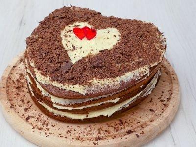 Как приготовить торт с масляным кремом