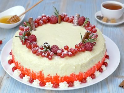Как приготовить торт «Ягодная фантазия»