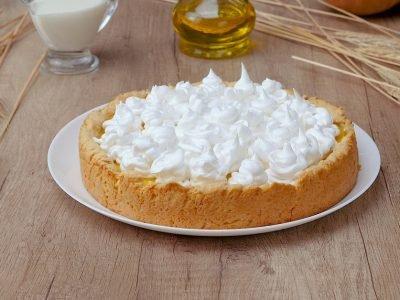 Как приготовить тыквенный пирог с безе