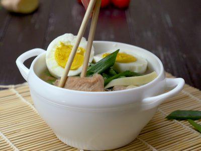 Как приготовить японский суп «Рамэн»