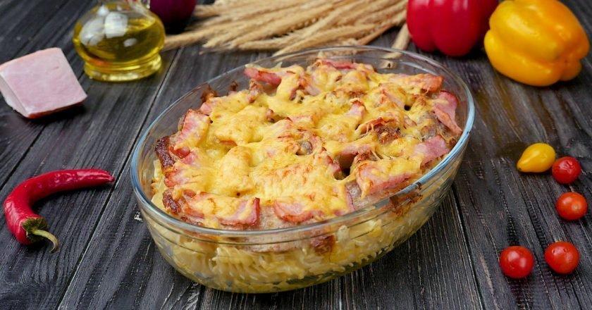 Как приготовить запеканку из макарон с сыром