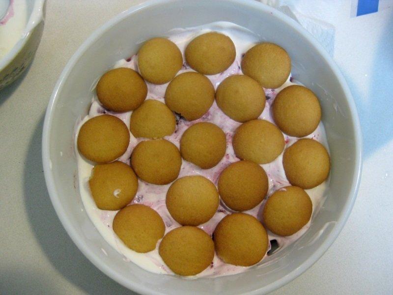 сметанный торт с печеньем
