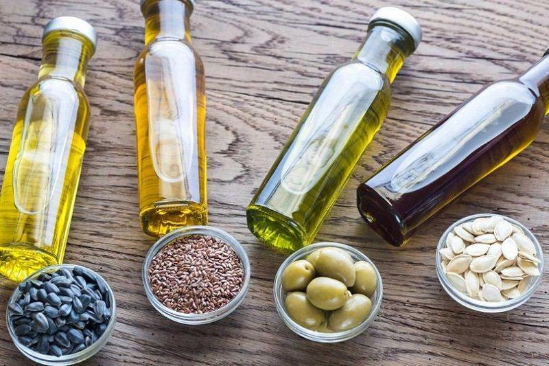 растительное масло на кухне