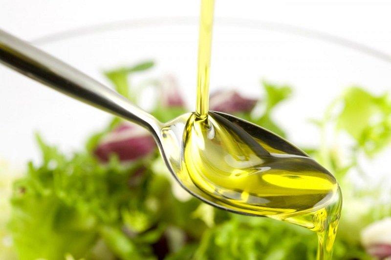 масло в салат