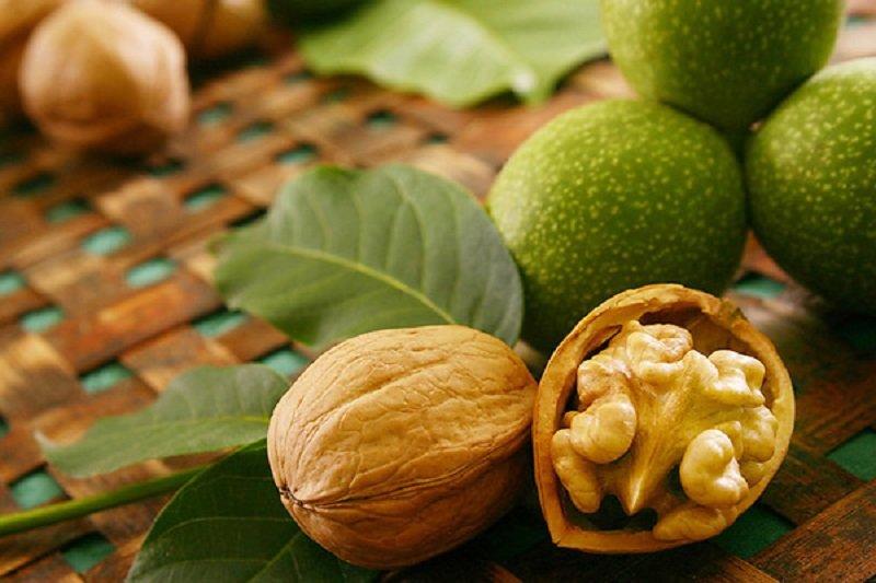 орехи для молодости кожи