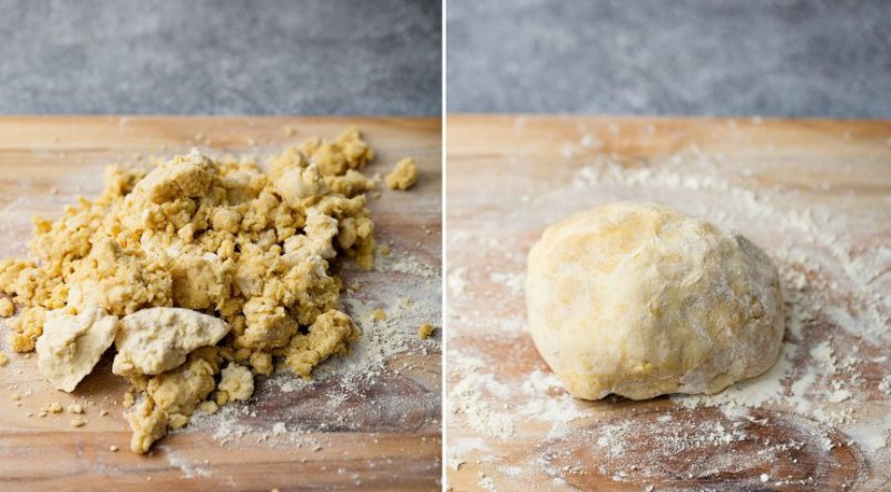 как готовить песочное тесто