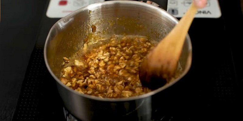 орехи в сахарном сиропе