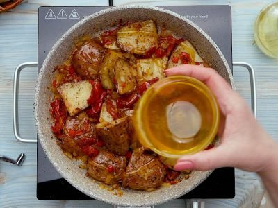 Карамелизированный картофель