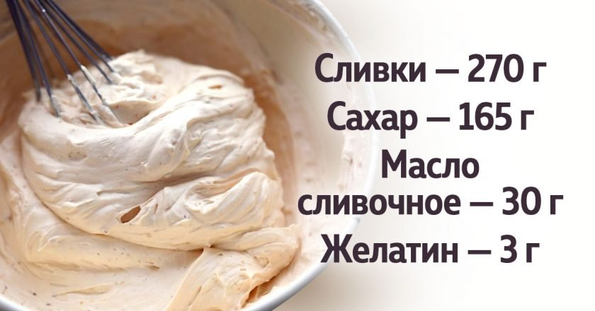 Домашнє карамельне крем-морозиво подивитися рецепт